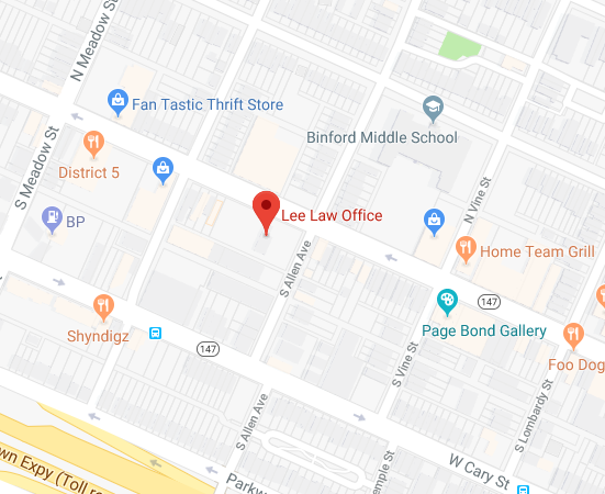 map for Lee Law Office, PLLC